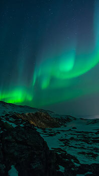 Northern Lights Sky