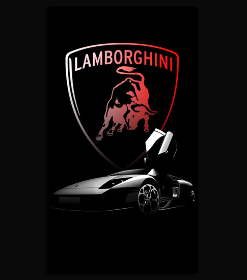 Lamborghini Sport Background For Your Cell Phone