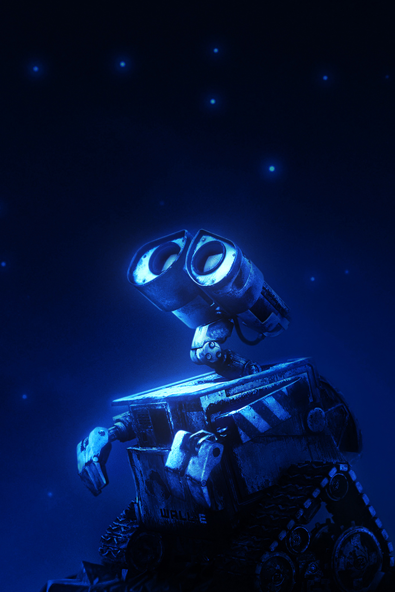 custom wall-e wallpaper