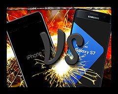 Apple's iPhone 7 VS Samsung's Galaxy S7 Battle Royal...Which Mobile Phone Will Dominate in 2017?...