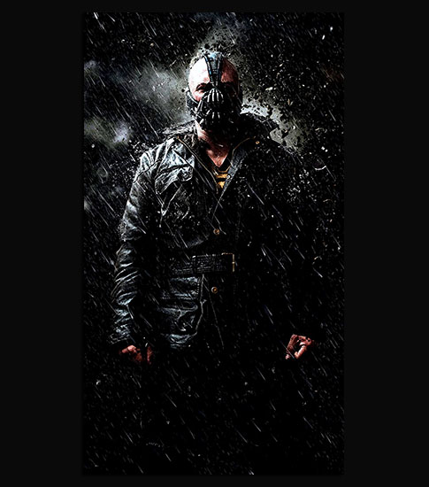 Bane iPhone 6 Plus Wallpaper