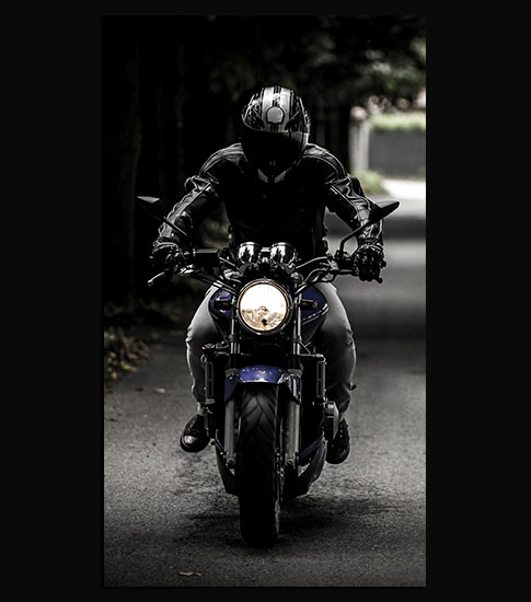Biker Motorola Wallpaper