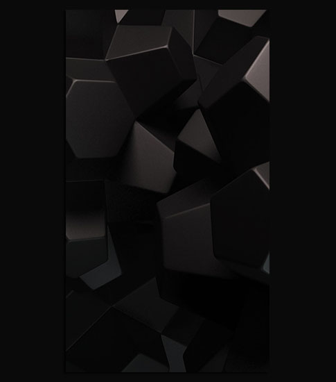 Black Blocks Motorola Wallpaper