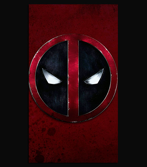 DeadPool iPhone 6 Plus Wallpaper