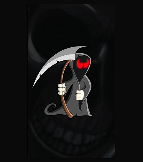 Grim Reaper Background For Your LG Phone