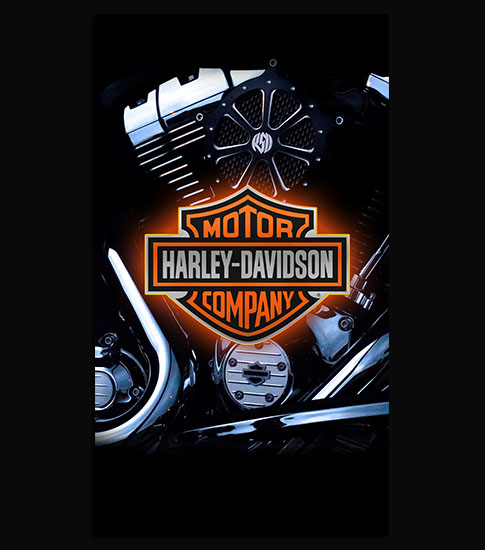 Harley Davidson Background For Your LG Phone
