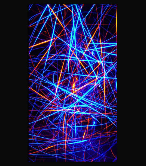 Lazer Lights iPhone Wallpaper