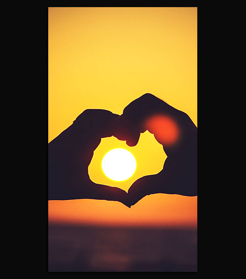 Love Sunsets Background For Your LG Phone
