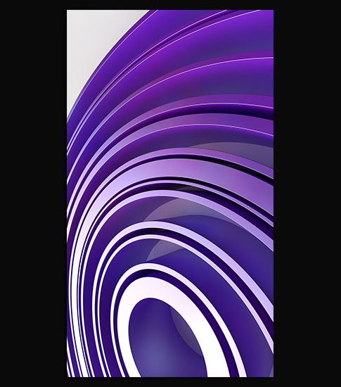 Purple Circle Samsung Galaxy Wallpaper