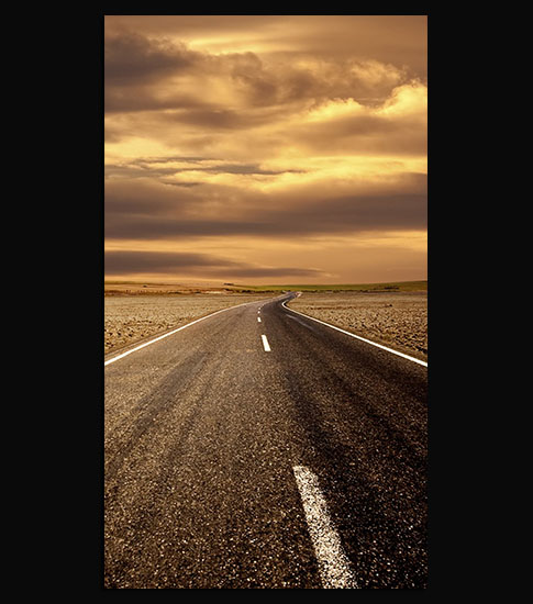 Road Background For Your LG Phone