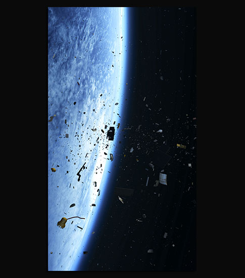 Space Debris HD Wallpaper Images