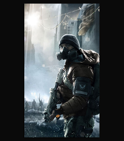 The Division Background For Your Mobile Phone