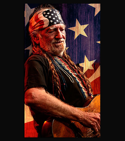 Willie Nelson Background For Your LG Phone