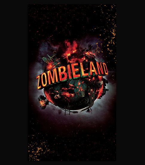 Zombie Land Background For Your LG Phone
