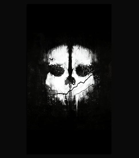 Ghosts skull hd wallpaper for your iphone 6 - Skull wallpaper iphone 6 ...
