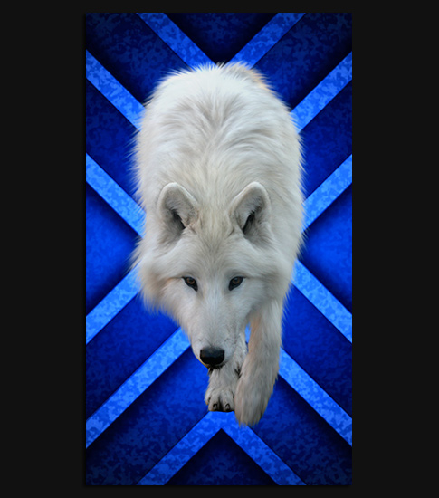 Ice Wolf Hd Wallpaper For Your Iphone 6 Spliffmobile