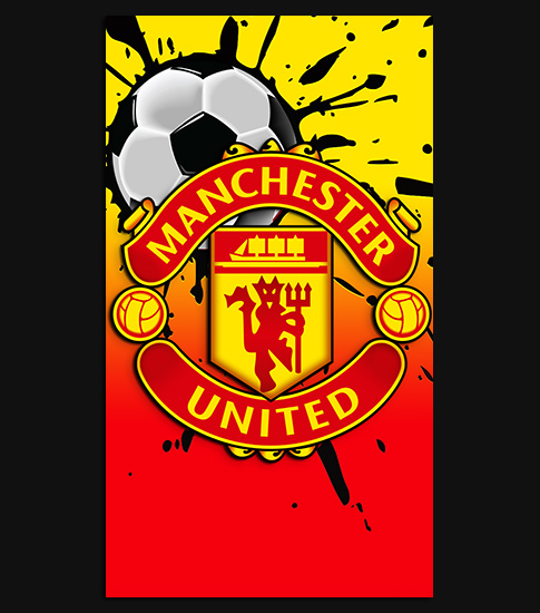 Manchester united hd wallpaper for your iphone 6 spliffmobile manchester united iphone 6 wallpaper voltagebd Choice Image