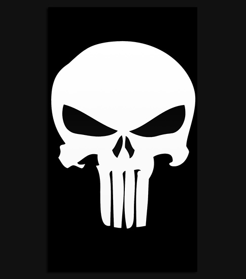 punisher hd wallpaper for your iphone 6 spliffmobile