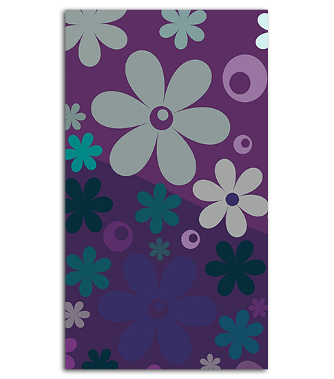 Cartoon Flowers HD Wallpaper For Your Mobile Phone