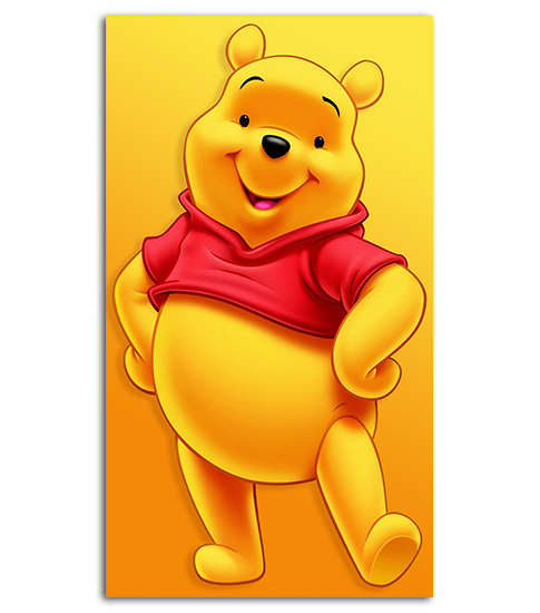 Wallpaper Winnie The Pooh: Winnie The Pooh HD Wallpaper For Your Mobile Phone