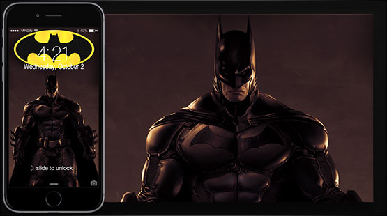 Limited Edition Batman Nexus Wallpaper