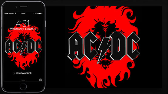 ACDC Samsung Galaxy Wallpaper