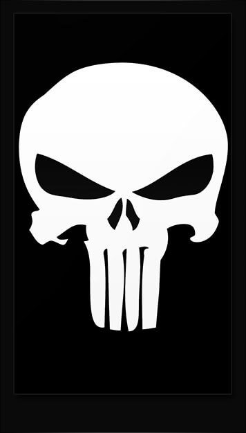 Punisher Skull Samsung Galaxy Wallpaper