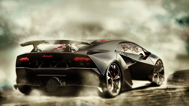 Hd Lamborghini Drift Wallpaper