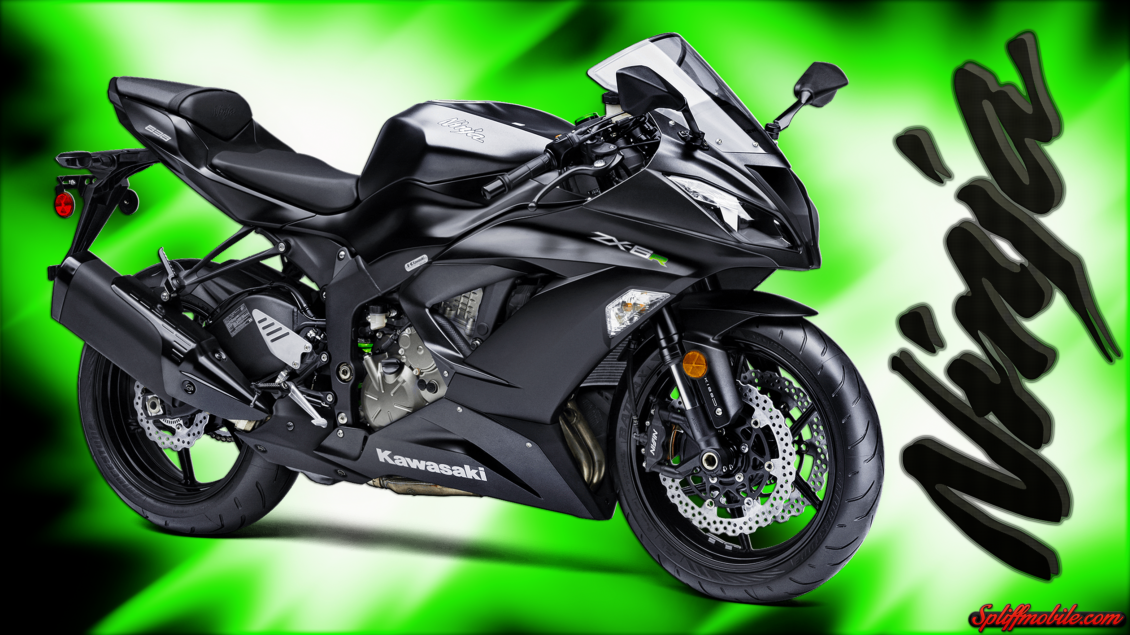 hd kawasaki ninja motorcycle wallpaper