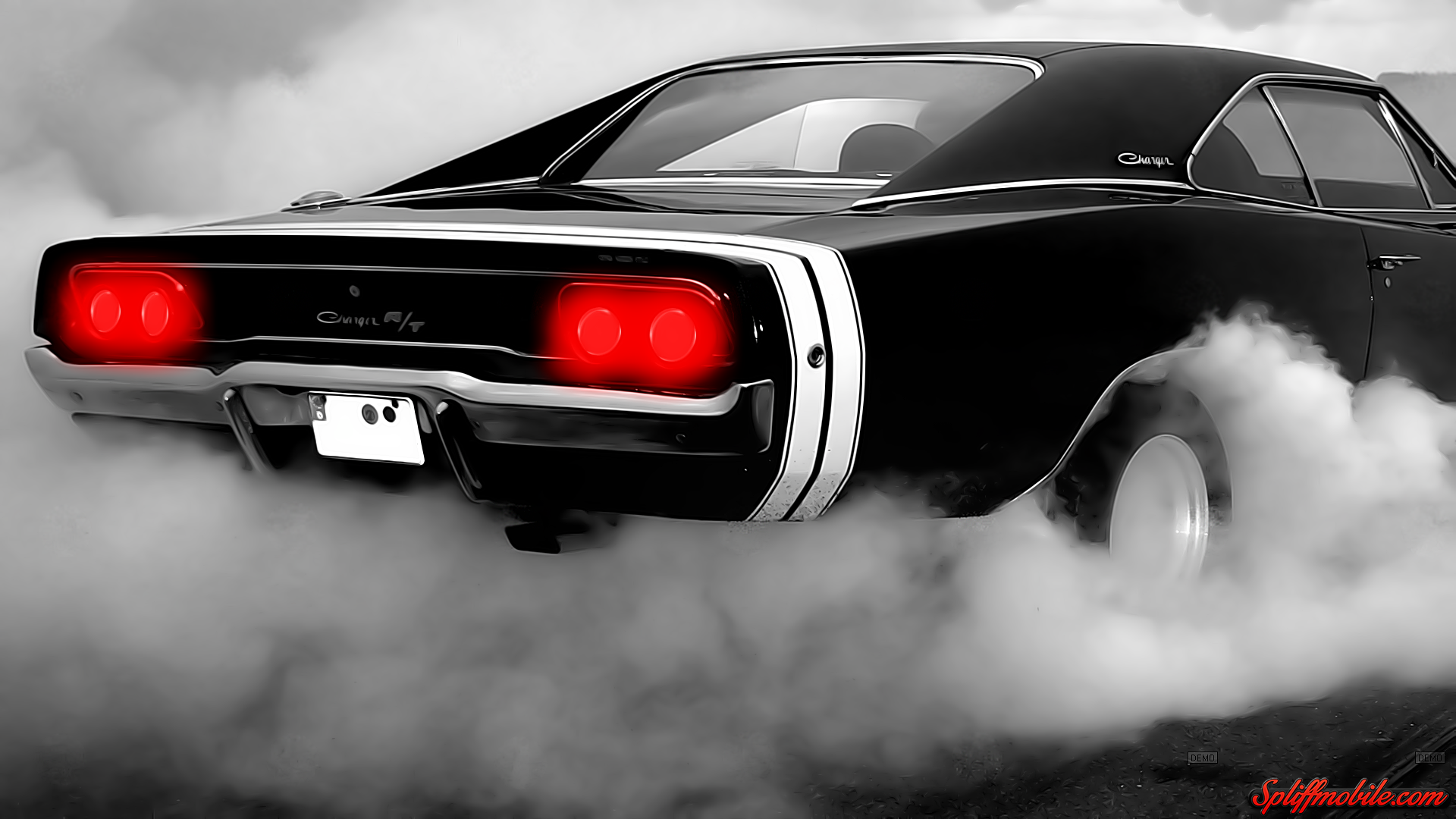 Hd Charger Burnout Wallpaper
