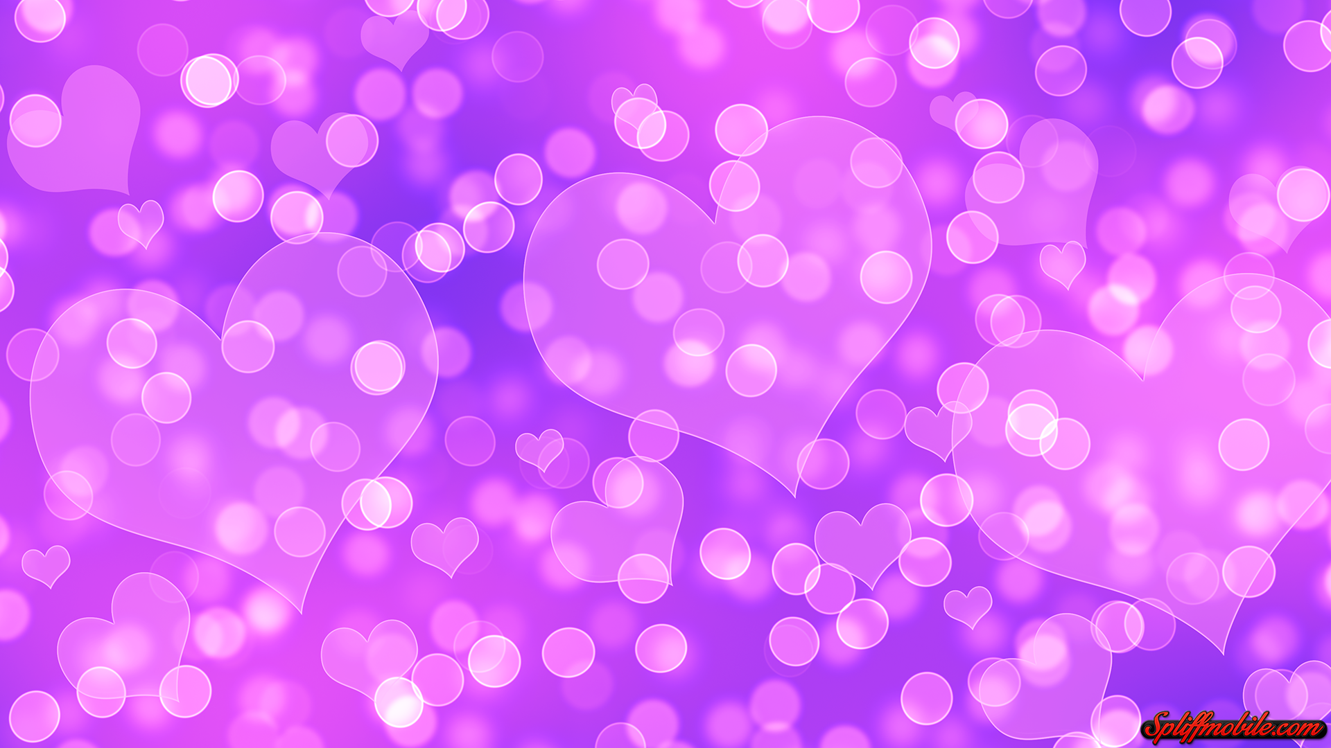 hd love bokeh wallpaper