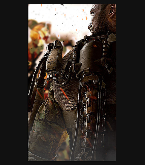 Call Of Duty Advanced Warfare Xperia Smartphone Wallpaper
