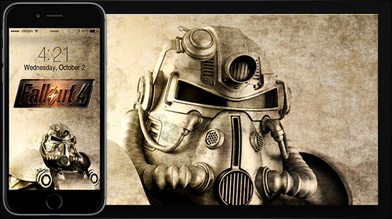 Fallout Xperia Wallpaper