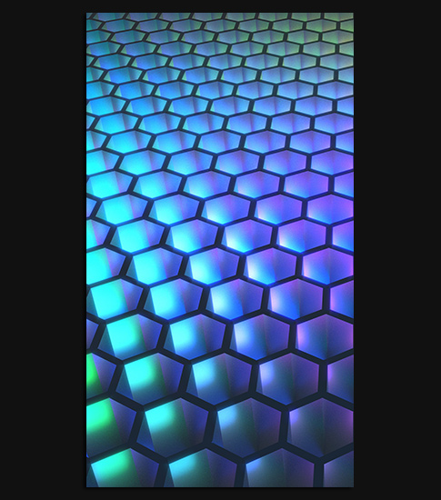 Abstract Hexagon Hd Wallpaper For Your Android Phone