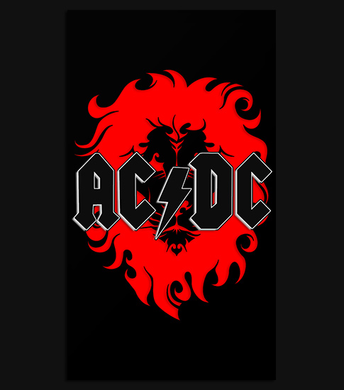 ACDC Android Phone Wallpaper
