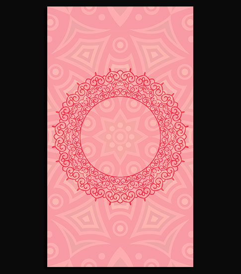 Arabic Pink Hd Wallpaper For Your Android Phone