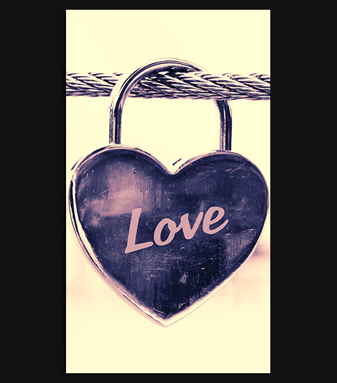 Love Lock 2 Android Phone Wallpaper