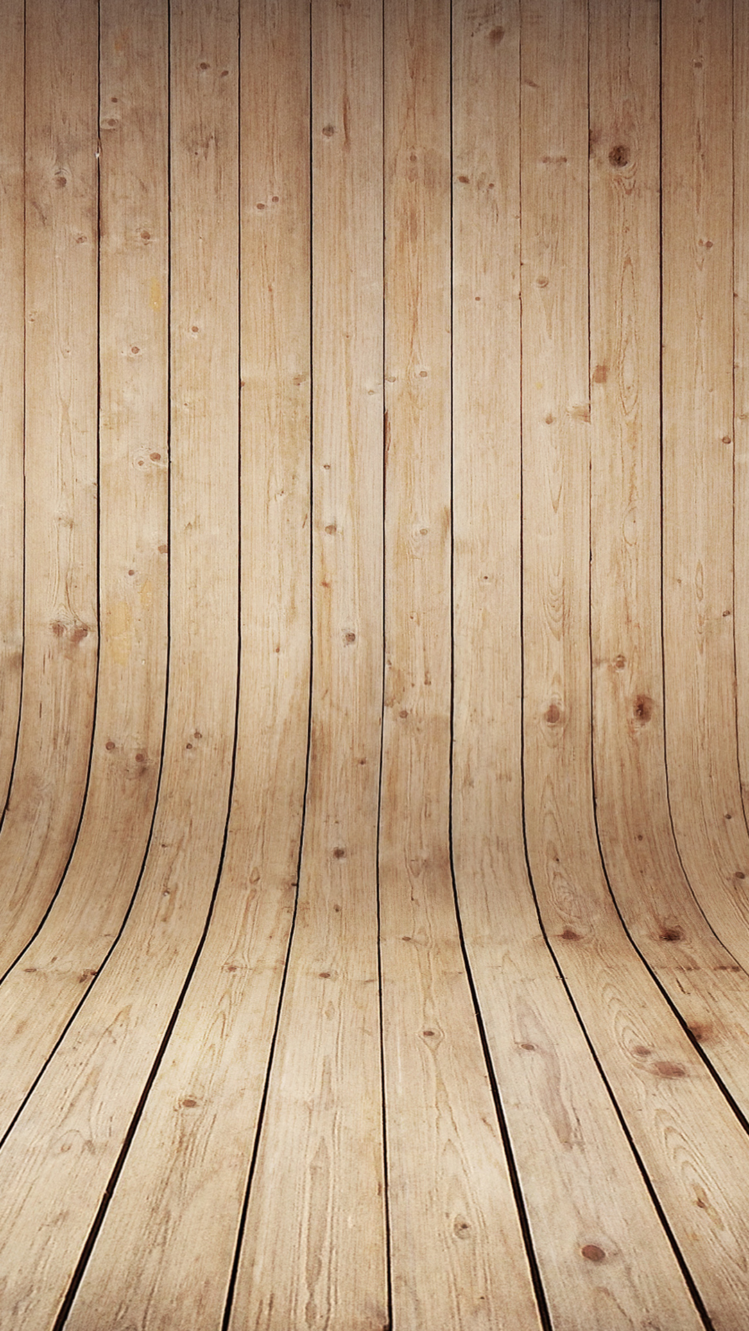 Curved Wood Hd Wallpaper For Your Mobile Phone