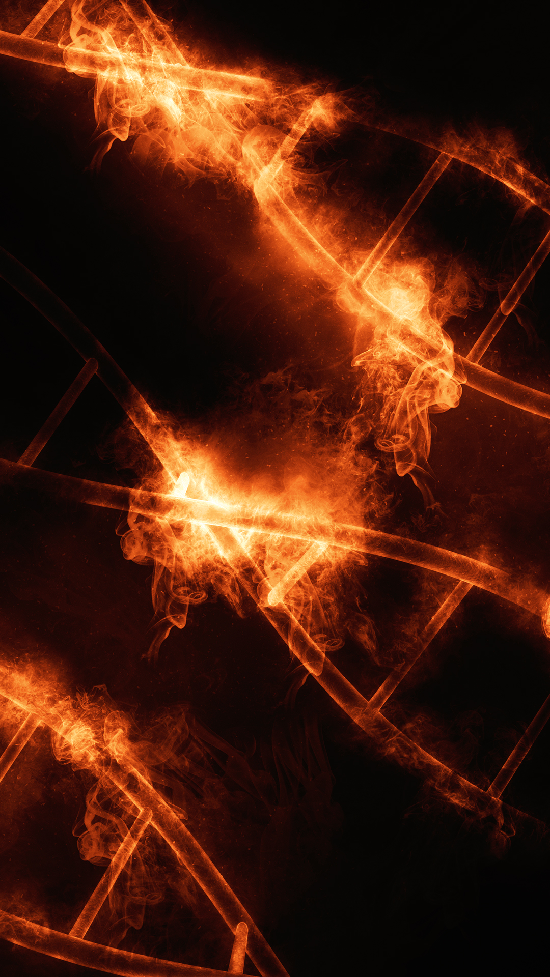 Fire dna hd wallpaper for your mobile phone - Phone wallpapers fire ...
