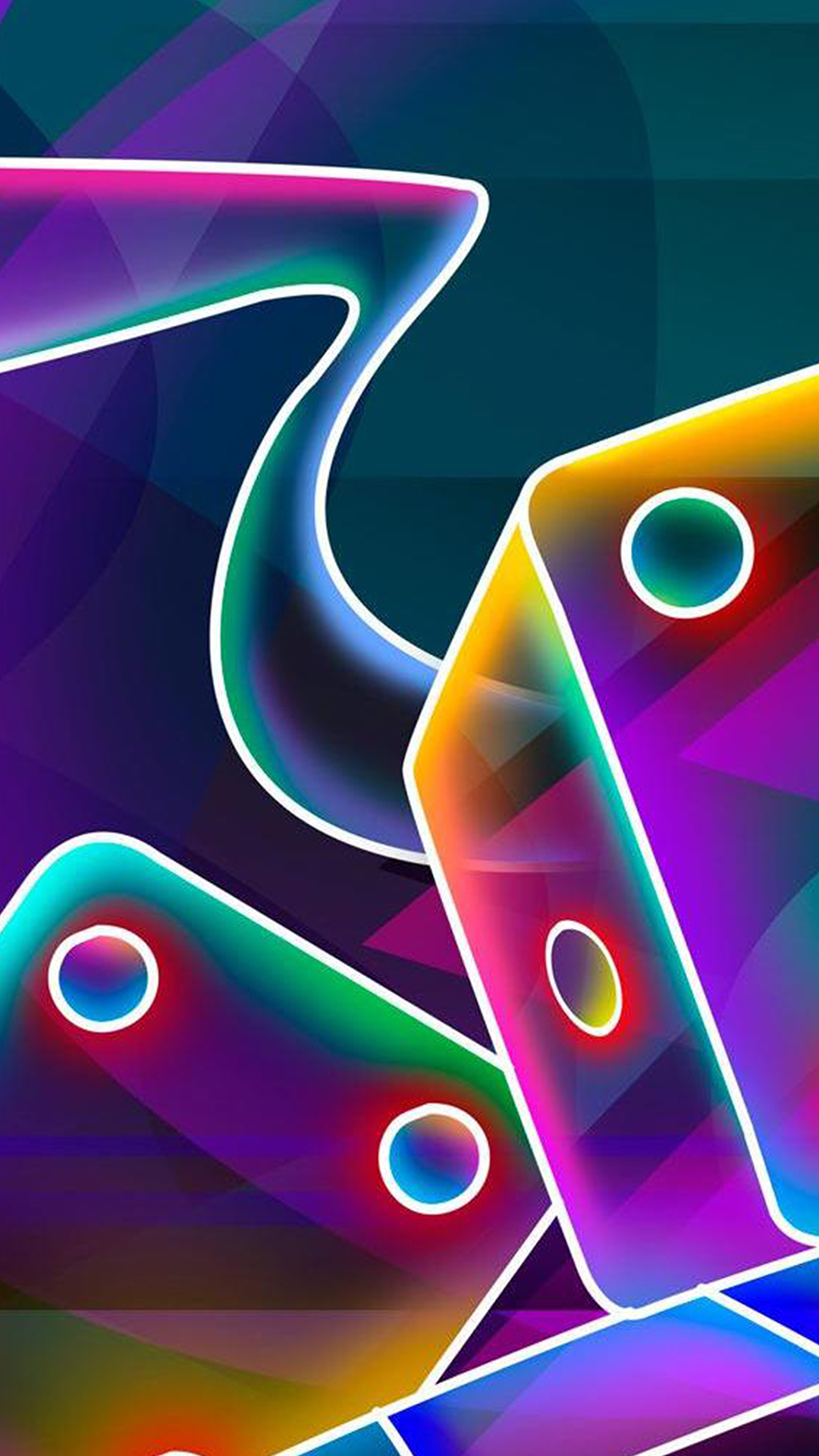 Neon dice hd wallpaper for your mobile phone - Neon hd wallpaper for mobile ...