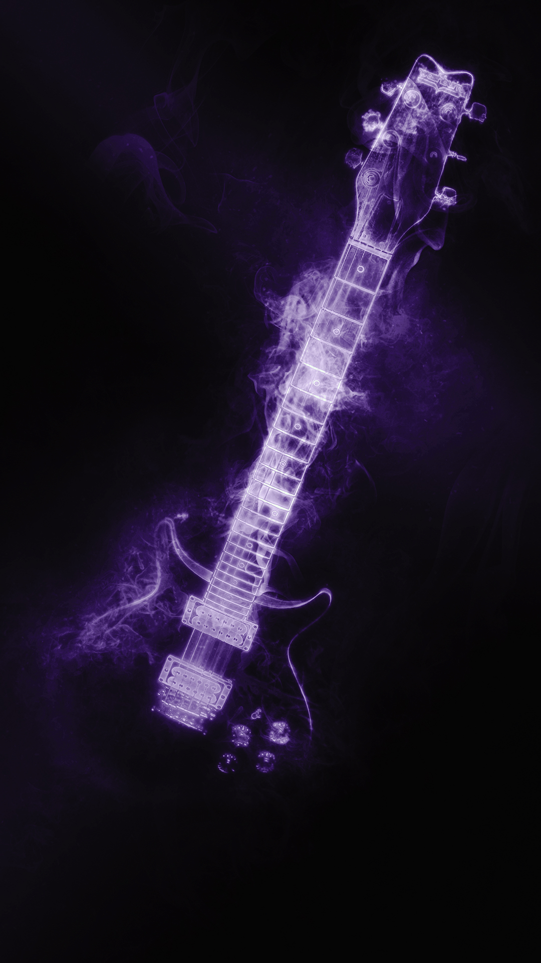 Smoking guitar hd wallpaper for your mobile phone - No smoking wallpaper download ...