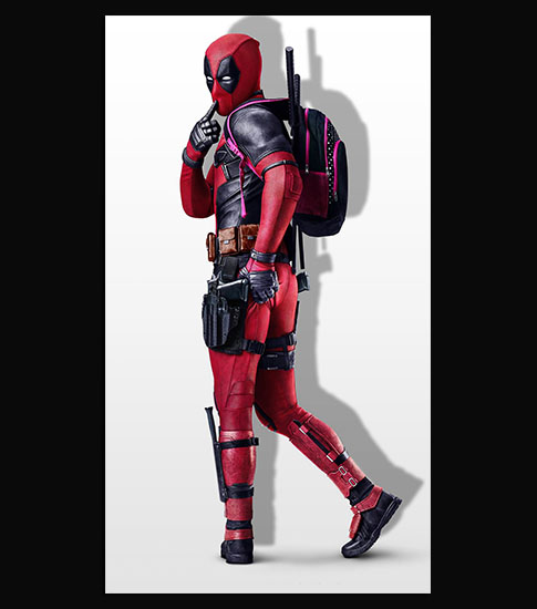 Deadpool Sexy Hd Wallpaper For Your Huawei Honor 8 Smartphone
