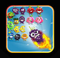 Bubble Shooter Fruits Magic