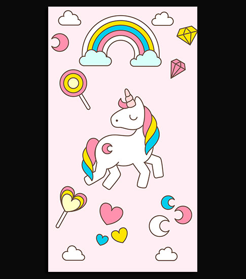 Cute Unicorn Hd Wallpaper For Your Iphone 6