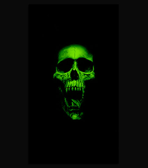 Green Skull IPhone 6 Wallpaper