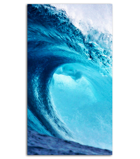 Huge Wave Hd Wallpaper For Your Mobile Phone Spliffmobile