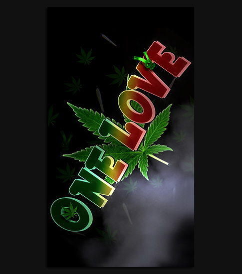 One Love Hd Wallpaper For Your Moto G Smartphone Spliffmobile