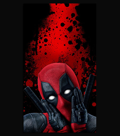 Dead Pool Nice Samsung Galaxy A5 Wallpaper