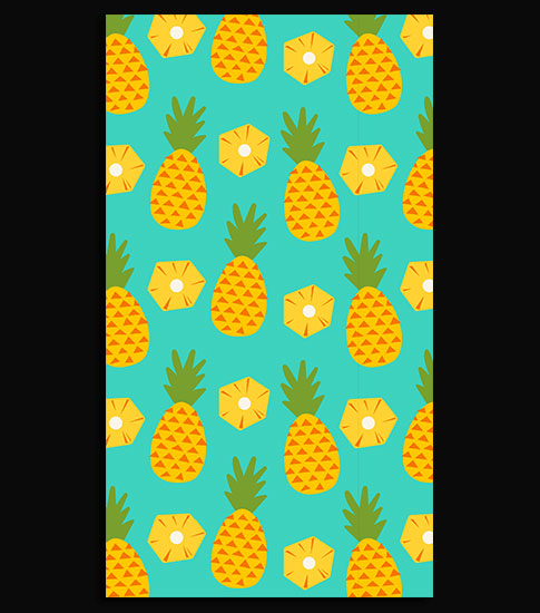 Pineapple HD Smartphone Wallpaper